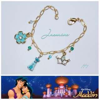 手作-公主手鍊-Jasmine 茉莉公主