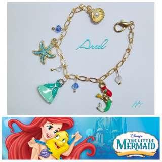 手作-公主手鍊-Ariel 小美人魚