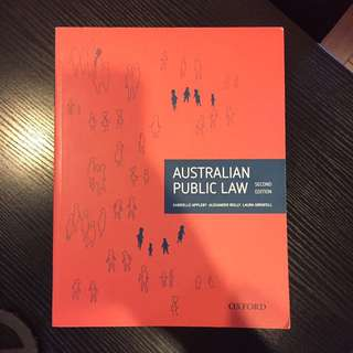 Australian Public Law second edition
