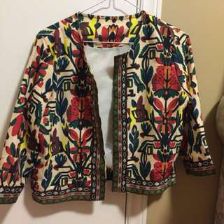 ROMWE Statement Jacket