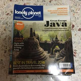 6 lonely planet magazines
