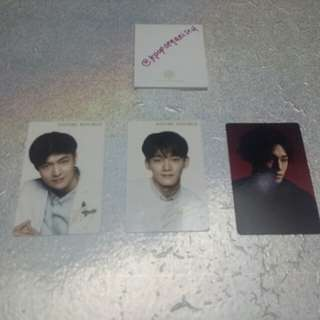 [Wts] EXO ASSORTED OFFICIAL PHOTOCARD
