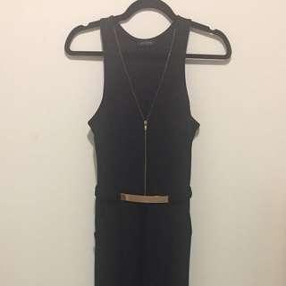 Good condition black jumpsuit