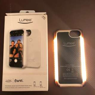 White Lumee Two Case