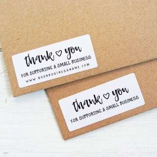 Customized Business Stickers