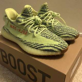 603af5530d1c2 ADIDAS YEEZY BOOST 350 V2 SEMI FROZEN YELLOW B37572