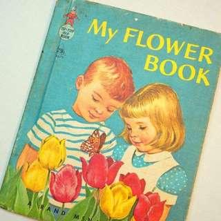 古董童書<My Flower Book>