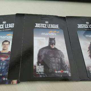 E Money Justice League - Limited Edition