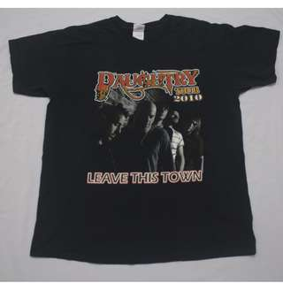 T-shirt  Band Daughtry Tour