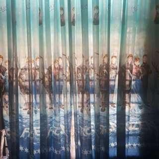 Frozen Curtain