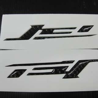 【翌迪】碳纖維部品 SYM / JET碳纖維 LOGO 立體車標 貼片