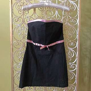 Karimadon black tube dress