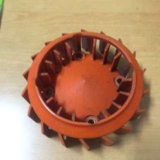 《出售》輕量化風扇 (橘)勁戰.BWS.GTR