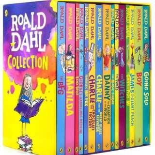 🚚 Roald Dahl collection book set of 15