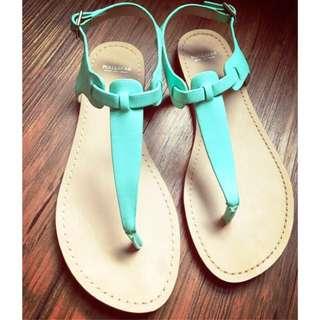 ZARA 集團 Pull & Bear 涼鞋 35 號