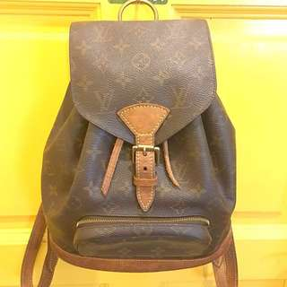 💯% Authentic Louis Vuitton LV monogram backpack MM