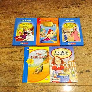 Children's story Reader series level 3 + misc
