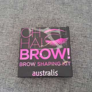 Australis oh hai brow! Brow shaping kit brows eyebrows palette define brow pomade