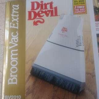Dirt Devil Broom Vac Electric Broom/Vacuum Cleaner