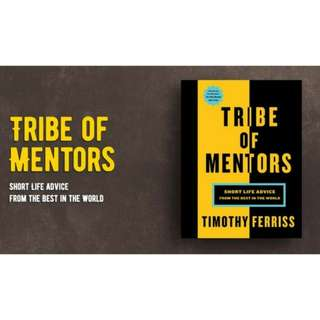 Brand New - Tribe of Mentors by Timothy Ferriss - Paperback
