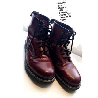 Doc Martens Smooth Cherry Red