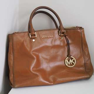 100% Genuine Michael Kors Soft Leather Tote Bag
