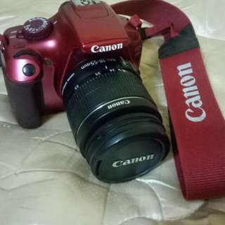 Camera canon eos 1100D