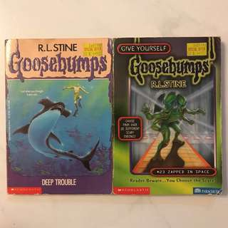 Goosebumps Story Books