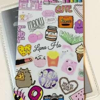 Custom cute etoll /flazz card