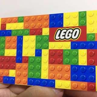 Custom etoll/ flazz card lego