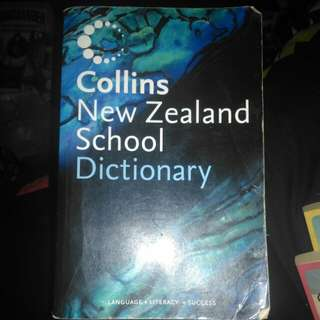 Dictionary - Collins New Zealand School Dictionary
