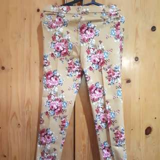 Celana floral murah