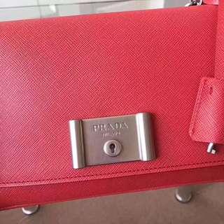 Authentic prada sling bag
