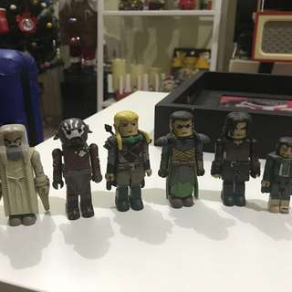 ART ASYLUM MINIMATES LOTR Lord Of The Rings with EXCLUSIVE
