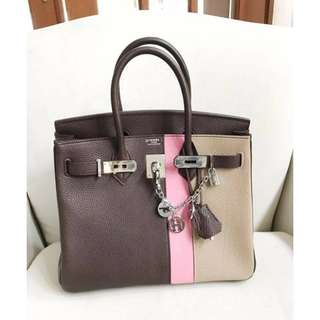 HERMES Birkin 3-tone Limited Edition Bag/ Authentic/ PRE-ORDER Only >>> PLEASE READ Profile Bio and Product details carefully