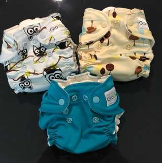NEW Grovia NB Cloth Diaper