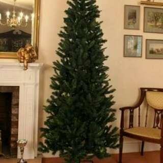 5--9ft green christmas tree