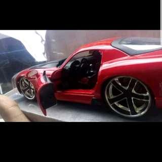 Diecast Jada Dodge Viper str10