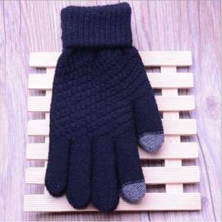 日本原單針織手套