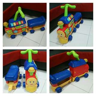Ride on train 2 in 1