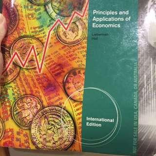🚚 Principles and applications of economics #教科書出清