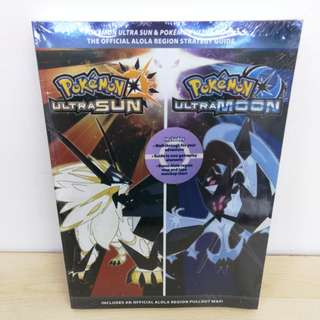 (Brand New) Pokemon Ultra Sun and Moon Official Strategy Guidebook
