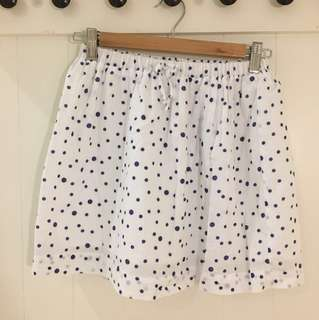 Zara Polka Dot Skirt for Girls 11 to 12 Years Old, Excellent Used Condition