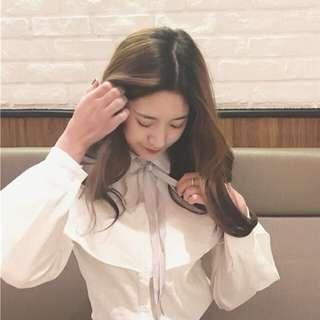 🚚 蝴蝶結襯衫🎀