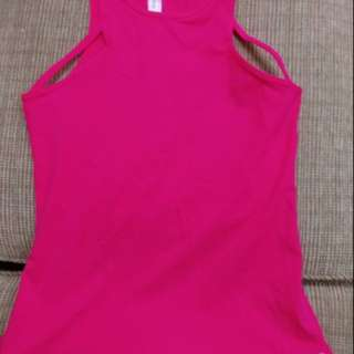 Lorna Jane excel tank nwot size 12 Cupid red