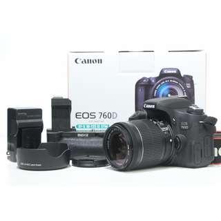 Canon EOS 760D Body SC 3K