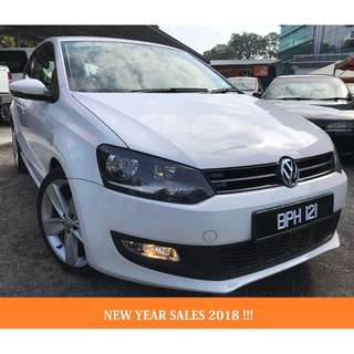 2014 Volkswagen Polo 1.2 (A) SPORT NEW YEAR SALES