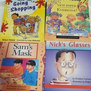 Children Books bundle of 4 books