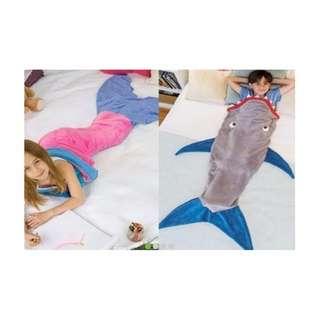 Pink Mermaid Tail-Shape Sleeping Bag Brand New