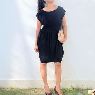 NICHII Black Casual Dress <100Rb